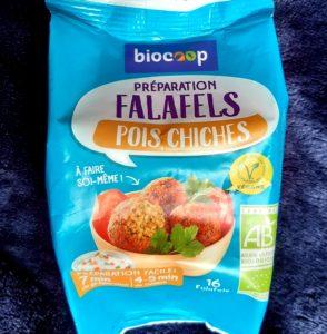 ファラフェルをフランスBiocoopの市販ミックス粉で作る2