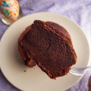 手作りオーガニックのチョコケーキ8