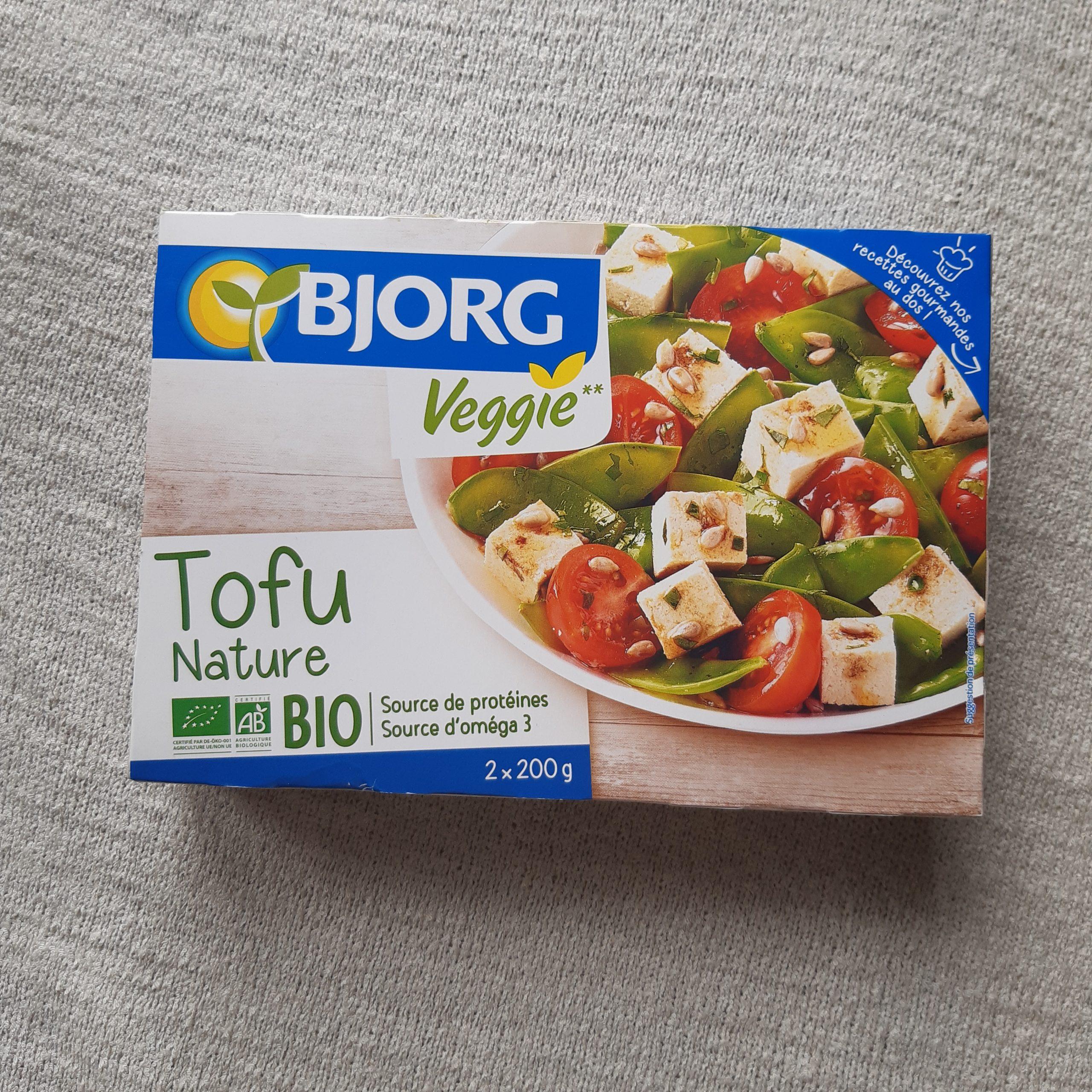 フランスのオーガニックの豆腐・bjorgについてのレビュー