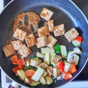 マスタードを使った豆腐のレシピ