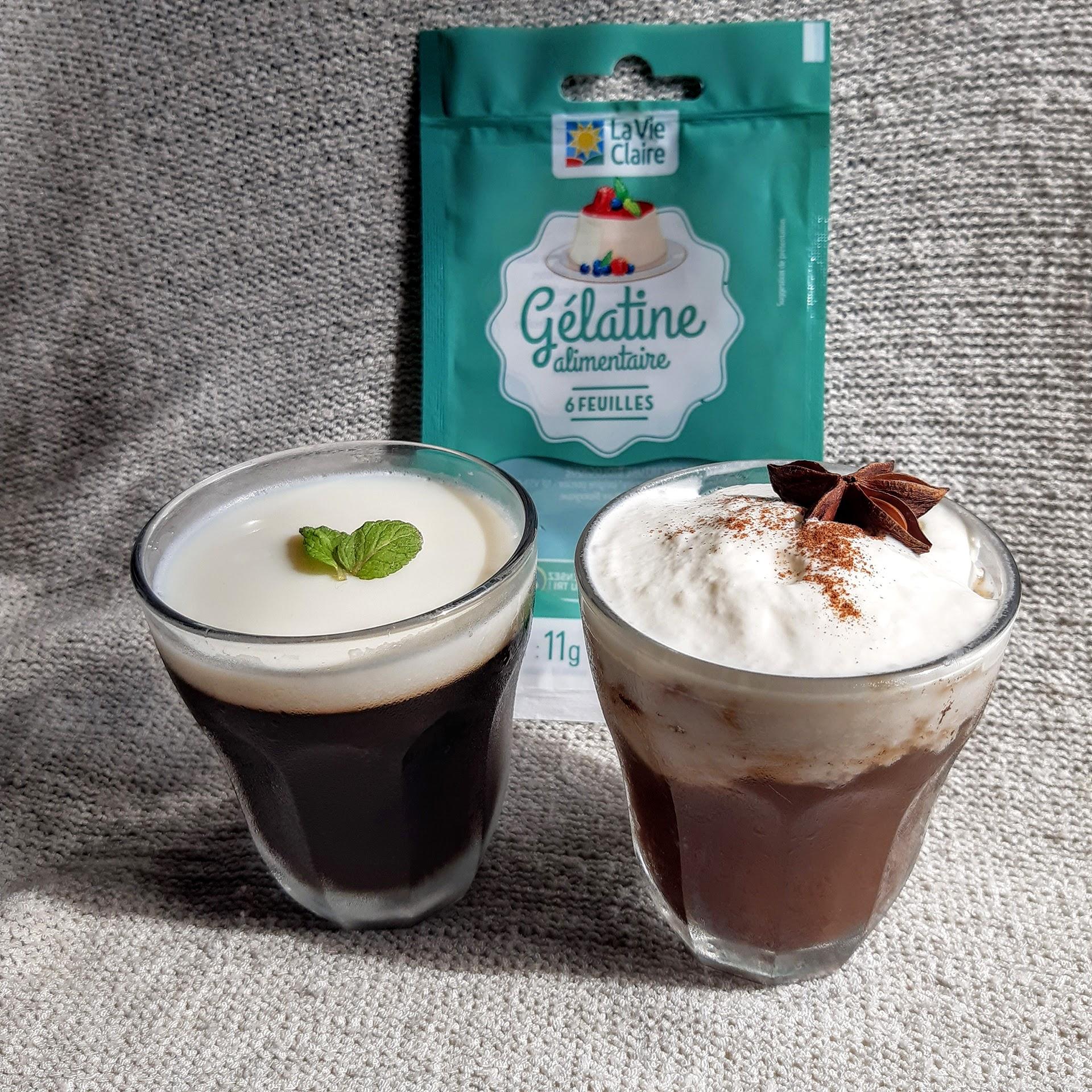フランスで手作りコーヒーゼリー