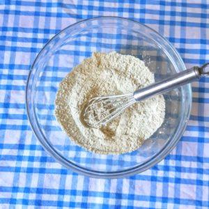 フランスの野菜入り小麦粉を使って作るマフィン super farine