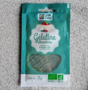 フランスで買う板ゼラチンgélatine
