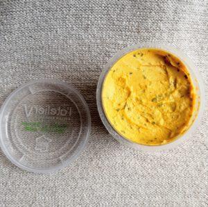 フランス産フムスは赤レンズ豆でできたオーガニック