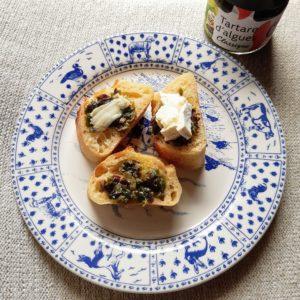 フランスの海草を使ったオーガニック商品bord-a -bord, tartare d'algues