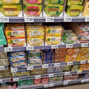 フランスのスーパーで買う紅茶のお土産